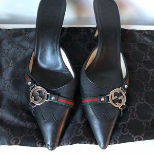 Gucci mule slides 💯% Authentic!!